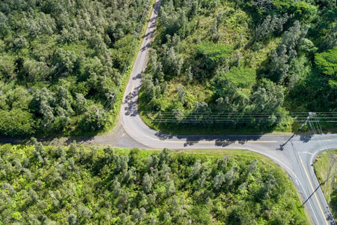 Sold vacant land (5.23 acres) in Puna, Kurtistown on the Big Island, listing provided by Arabel Camblor Realty